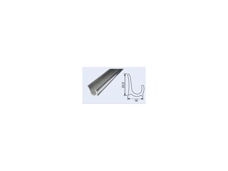 Moderigtigt Regnliste - Tagrende 18x24mm Aluminium - Dyrehøj Trailer Center MB01